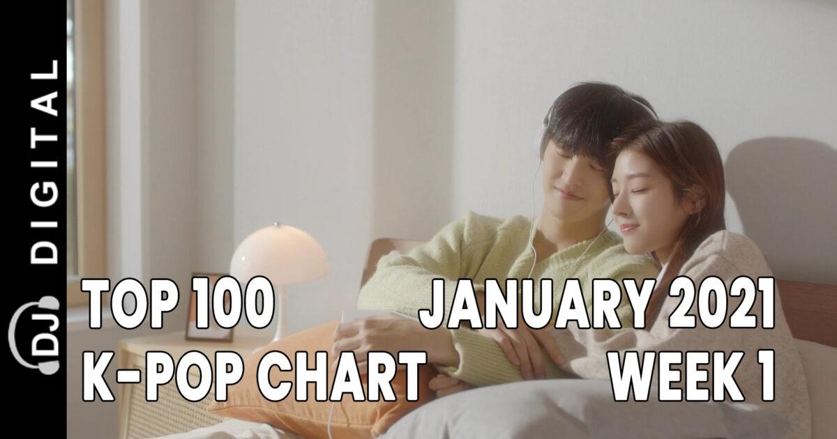 Top 100 K-Pop Songs Chart - January 2021 Week 1 - DJ Digital